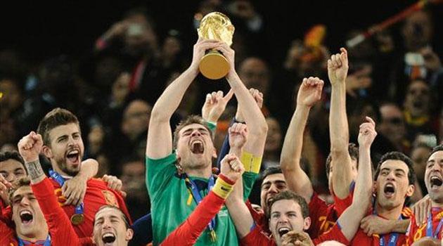 Casillas, el 1 Mundial