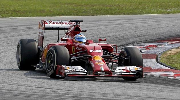 Alonso: El coche es fiable, pero nos falta velocidad