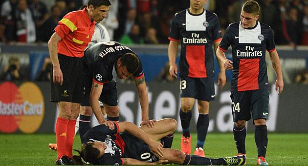 Ibrahimovic enciende las alarmas en París