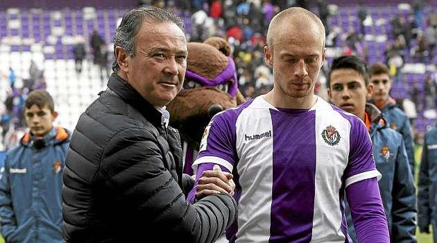 Zorrilla, clave para seguir vivo para el Valladolid
