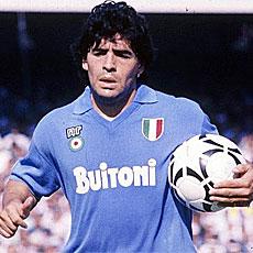 Diego Armando Maradona, el D1Os argentino