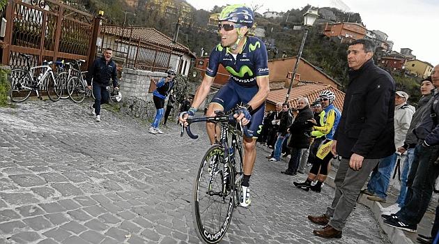 Alejandro Valverde en una imagen de 2014. FOTO: Movistar Team