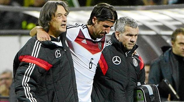 Löw confía en que Khedira llegue al Mundial