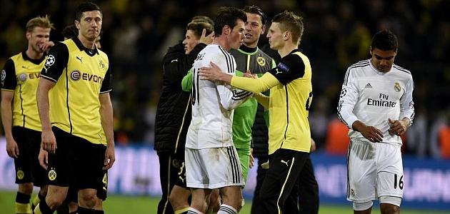 Real Madrid survive Dortmund scare