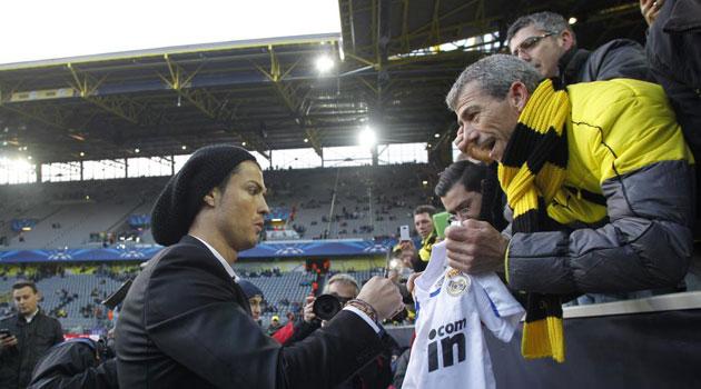 Cristiano Ronaldo fever in Dortmund