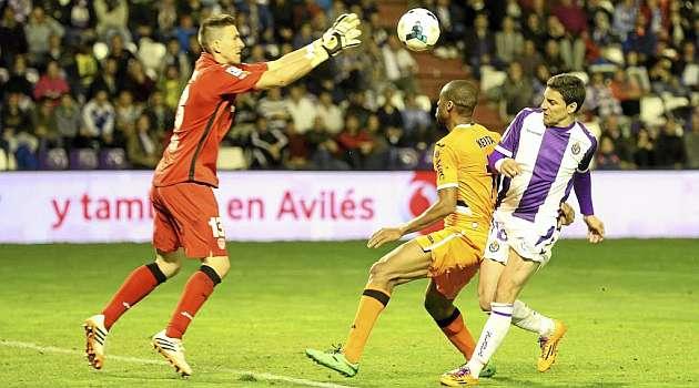 El Valladolid se afianza como el rey del empate