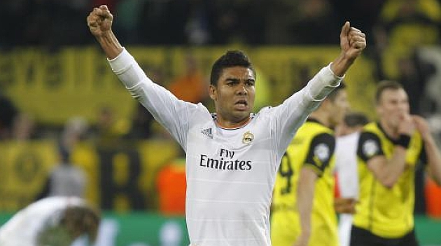 Casemiro: You'll have to ask Ancelotti why I'm not playing more