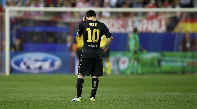Messi corri� la mitad que Koke y s�lo 1,5 kil�metros m�s que Pinto