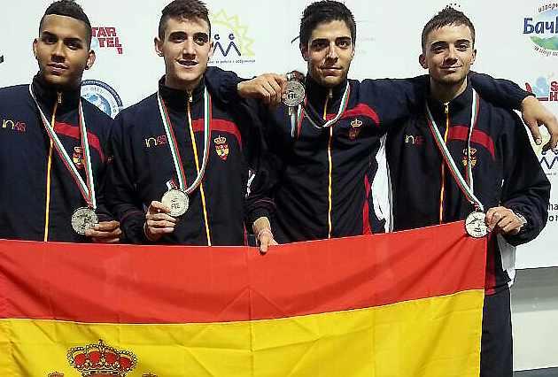 España júnior, plata en espada en el Mundial