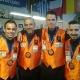Sueca regresa con medalla
