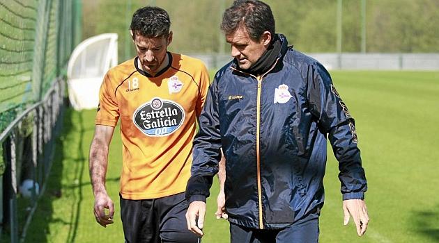 Fernando Vázquez recuperará a Toché, Bergantiños y Wilk
