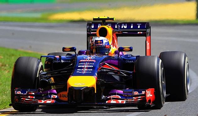 Daniel Ricciardo durante el GP de Australia 2014 / Foto: RV: RACINGPRESS