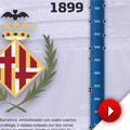 Barça y Madrid a través de sus escudos