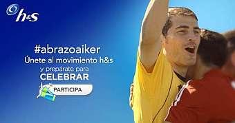 Súmate al #AbrazoaIker y prepárate para Brasil