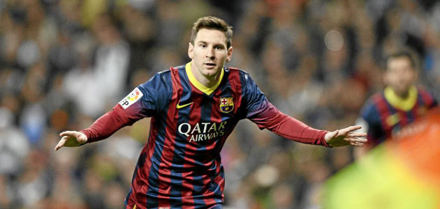 Leo Messi, Cl�sico king