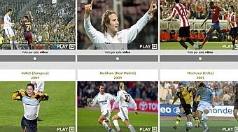 Elige el mejor gol de las finales de Copa