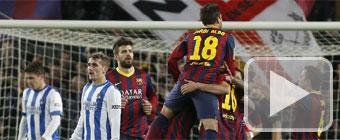El camino del Barça a la final