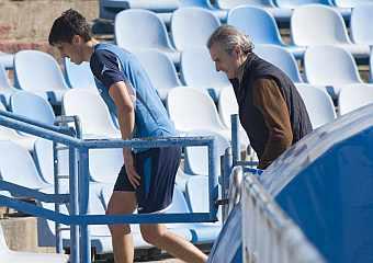 Mario Paglialunga estar� dos semanas de baja por lesi�n