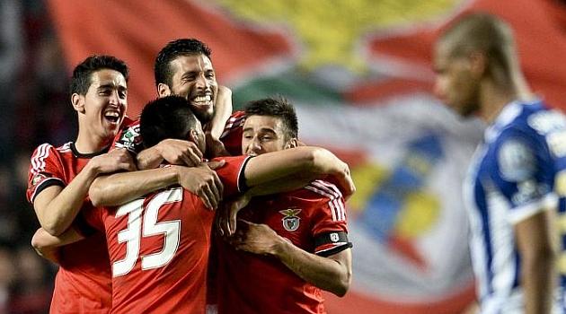 El Benfica remonta y pasa a la final de Copa