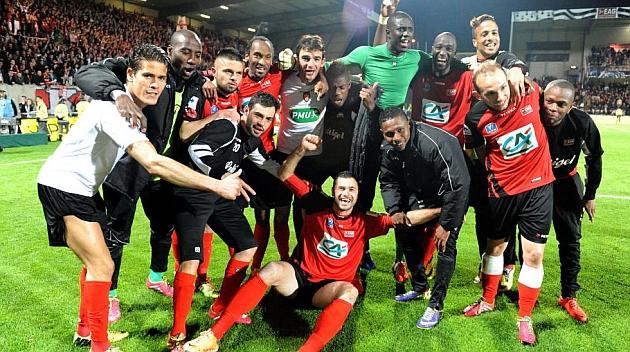 El Guingamp elimina al Mónaco y disputará la final ante el Rennes