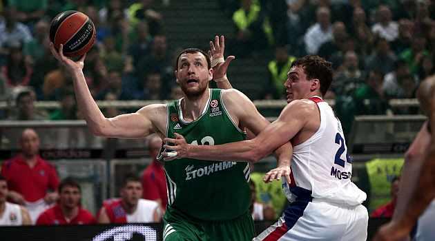 Panathinaikos fuerza el cuarto y Maccabi toma ventaja