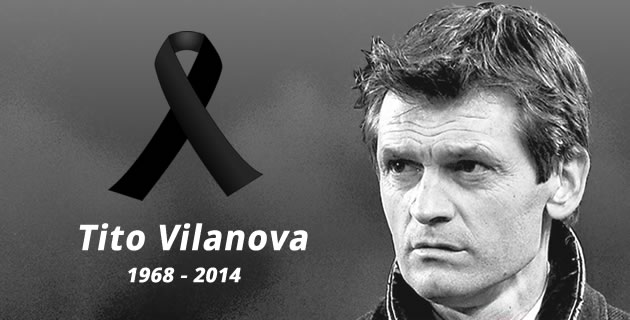 Tito Vilanova loses his last match
