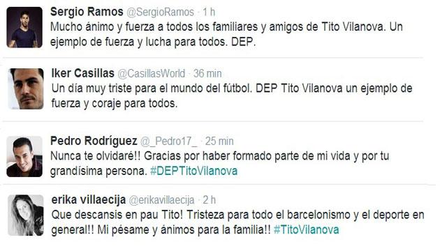 El deporte español da el último adiós a Tito Vilanova