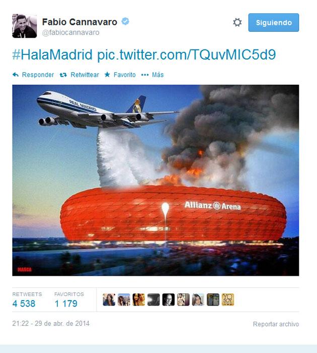 Cannavaro 'apaga' el fuego del Allianz