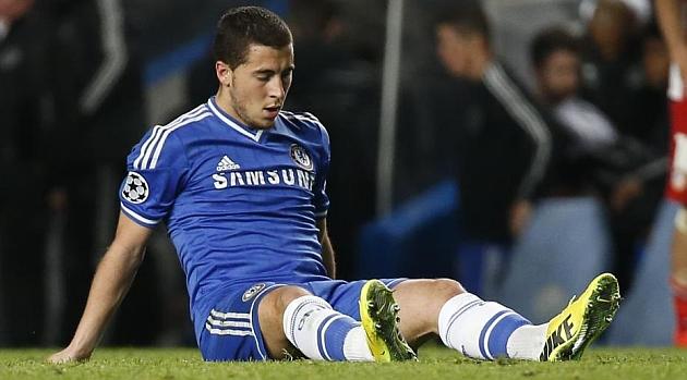 Hazard: El Chelsea no est� hecho para jugar al f�tbol