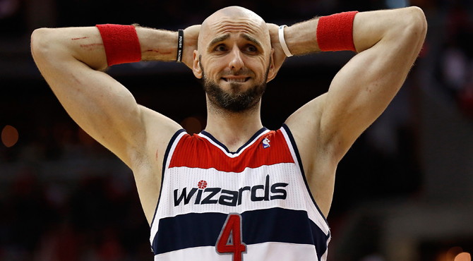 Marcin Gortat convierte a los Wizards en '300' ante las amenazas de muerte recibidas
