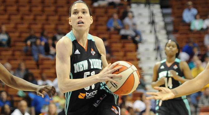 El accidentado pero esperanzador debut de Anna Cruz en la NBA femenina