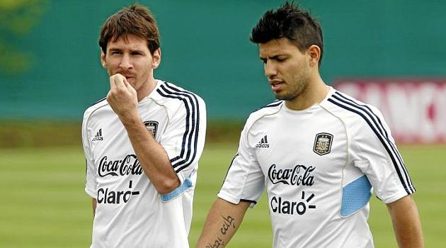 Messi sugiere el fichaje de Agüero y la continuidad de Pinto