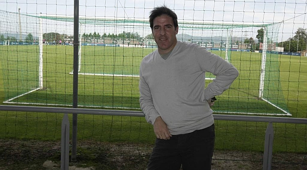 Berizzo visita A Madroa en 2011 / Foto: Jorge Land�n