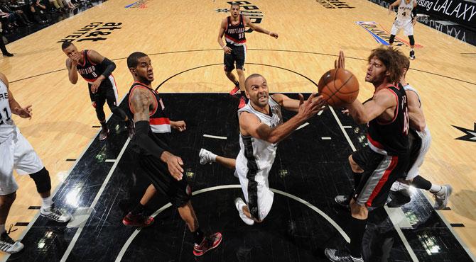 La clase, talento y magia de Parker lanzan a los Spurs frente a los Blazers de Claver