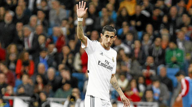 The chase is on for Di María