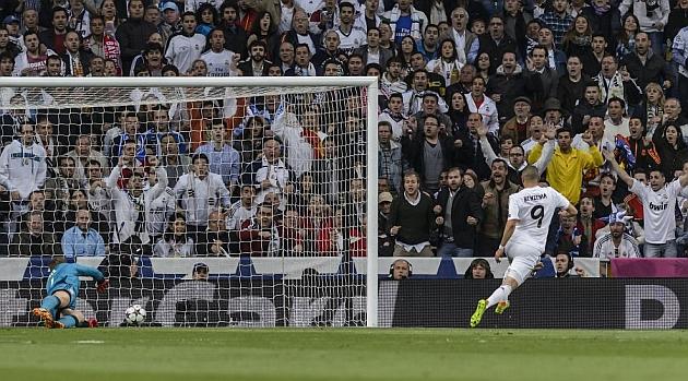El gol de Benzema puede ser talism�n en Champions