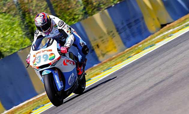 Salom en los libres de Le Mans / Foto: MotoGP