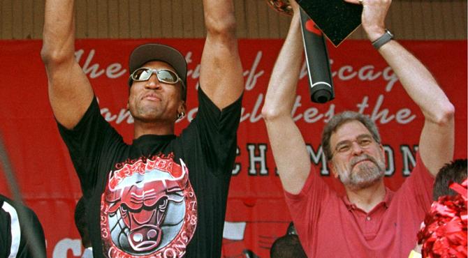 Tras los 'cuernos' de Kerr Phil Jackson recurre a otro viejo soldado: Scottie Pippen
