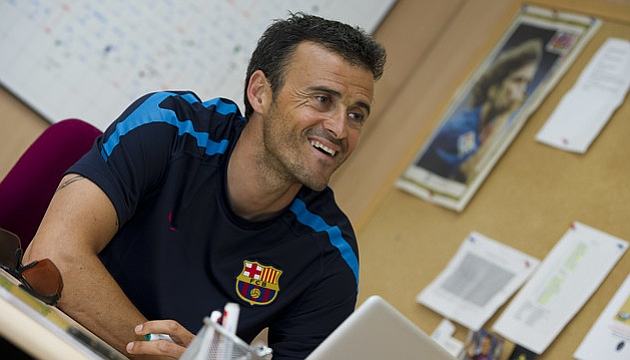 Luis Enrique, nuevo entrenador del Bar�a
