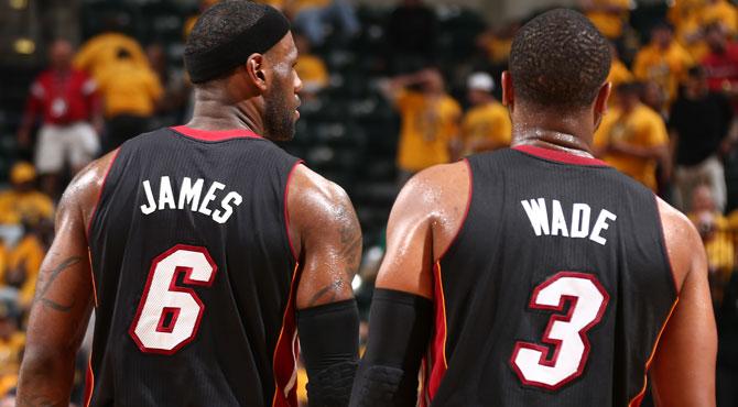 Wade propone y LeBron dispone ante los Sex Pacers