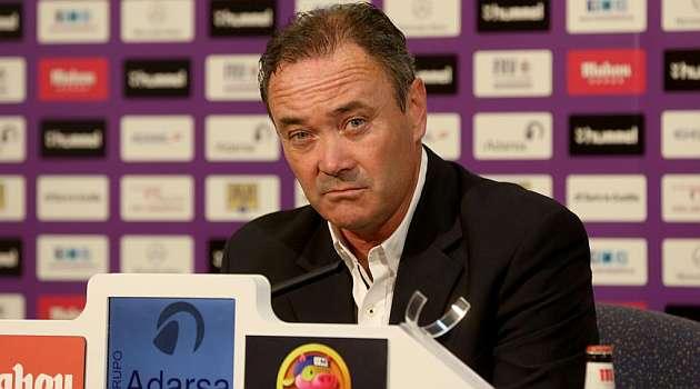 El Valladolid comunica que JIM no seguirá como entrenador