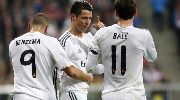 Trio BBC di Real Madrid