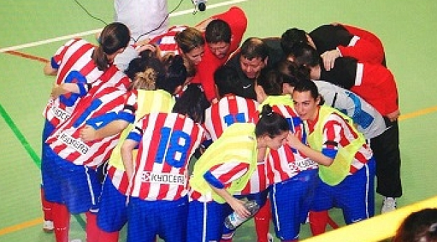 El Atlético Madrid Navalcarnero, campeón de Liga
