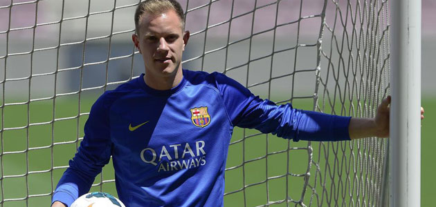 Ter Stegen: My skills fit in perfectly with Barça's