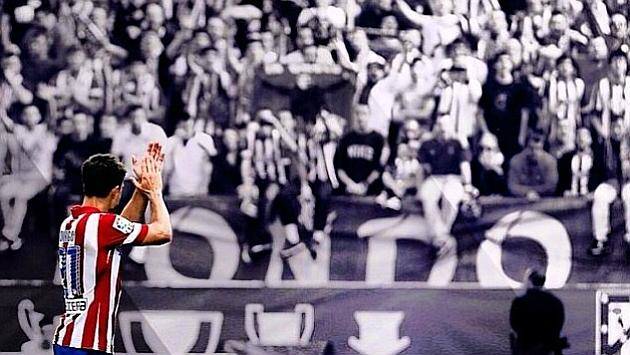 Imagen con la que Diego se despidió de los aficionados del Atlético en Instagram.