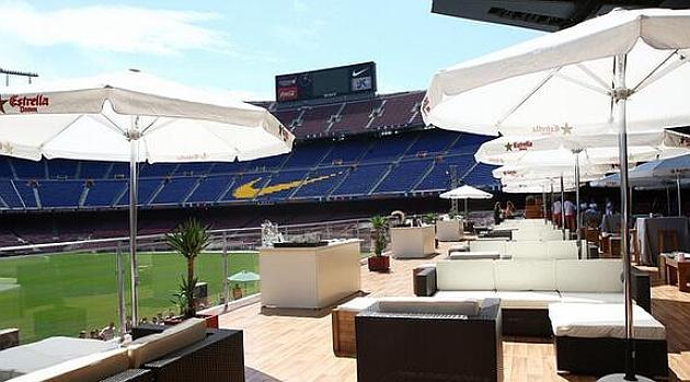 Barcelona: El Barcelona aprovecha sus instalaciones y convierte el Camp Nou en una terraza de verano - MARCA.com