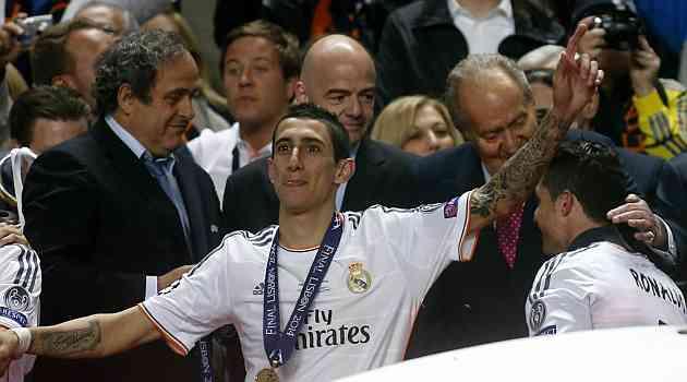 Di Mar�a: Ha sido mi mejor temporada en el Madrid