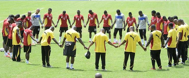 El presidente de Ghana quiere ganar el Mundial
