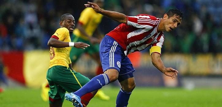 Paraguay derrota a una Camerún sin Eto'o