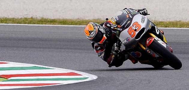 Rabat logra el mejor tiempo en Moto2